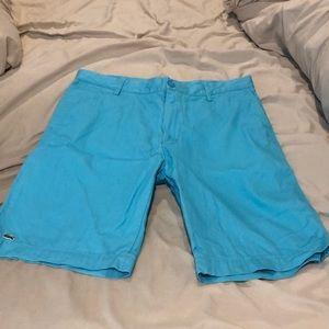 Men's size 33 Lacoste shorts